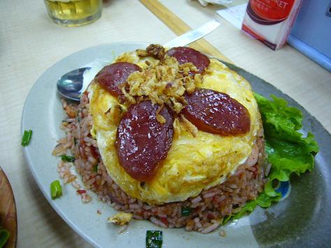 越旺美食 泰式蝦醬炒飯.JPG