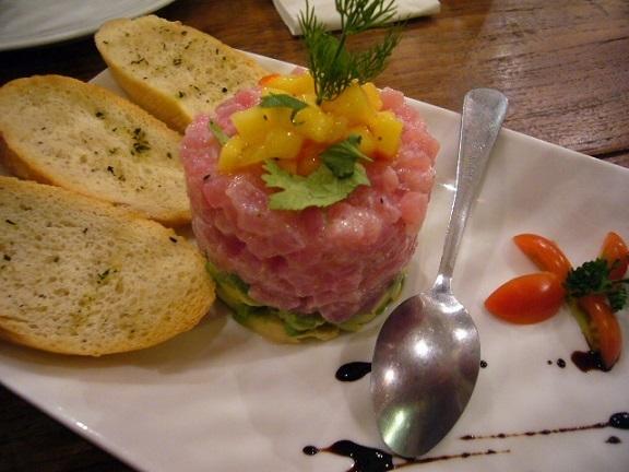 P1150043 Snapper New Zealand Restaurant on Sukhumvit tuna.jpg