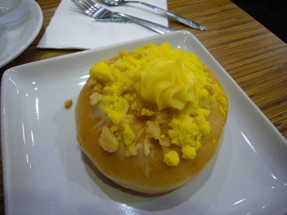 P1150901 Krispy Kreme Doughnuts mango cheese cake.jpg